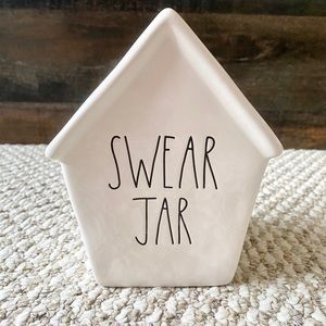 "Rae Dunn | ""Swear Jar"" Piggy Bank"